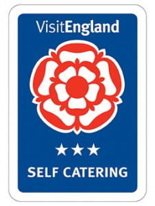 Visit England three Star Self Catering